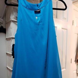 AB Studios sleeveless blouse